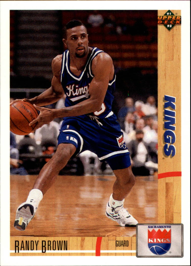 1991-92 Upper Deck #437 Randy Brown RC