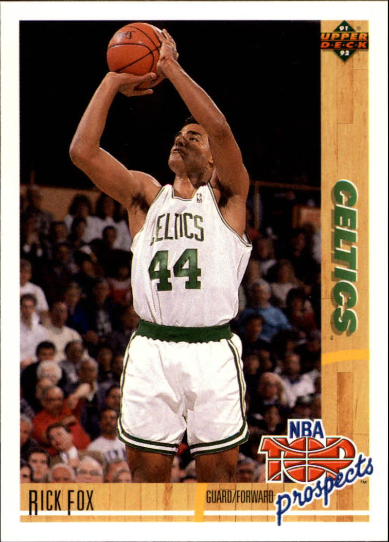 1991-92 Upper Deck #443 Rick Fox TP RC