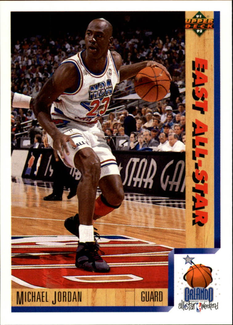 1991-92 Upper Deck #452 Michael Jordan AS