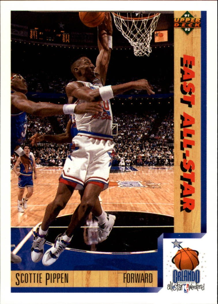 1991-92 Upper Deck #453 Scottie Pippen AS