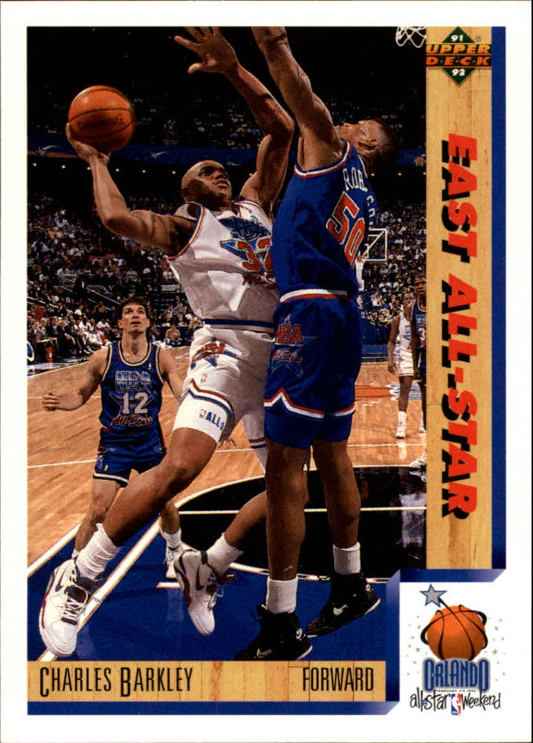 1991-92 Upper Deck #454 Charles Barkley AS
