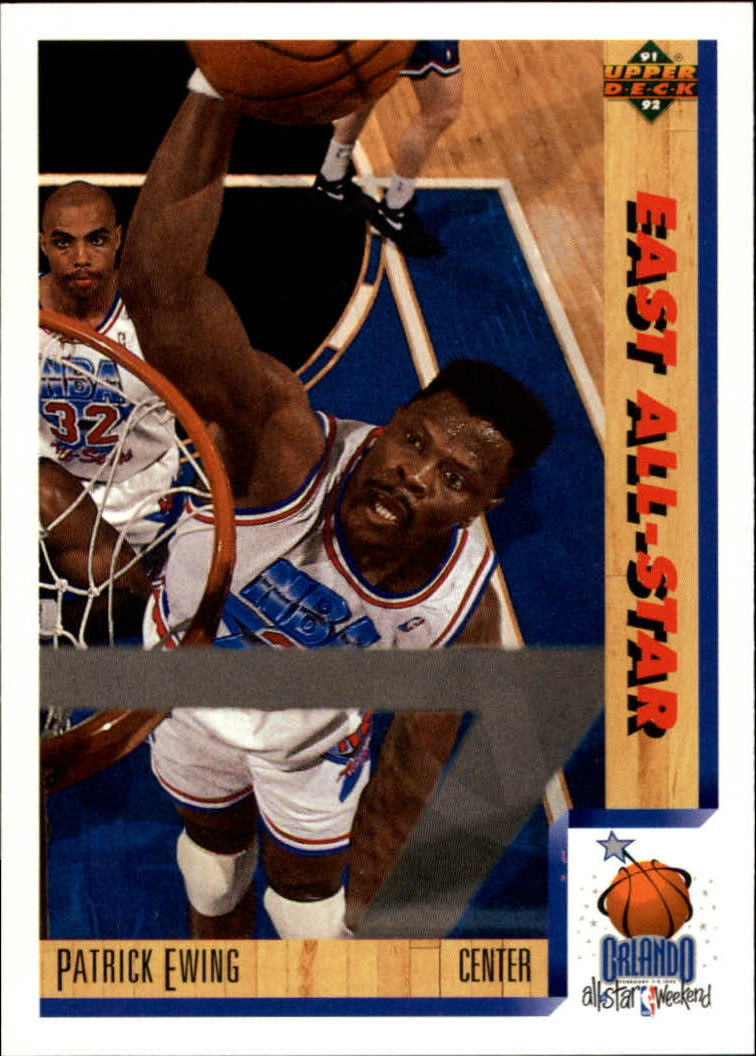 1991-92 Upper Deck #455 Patrick Ewing AS