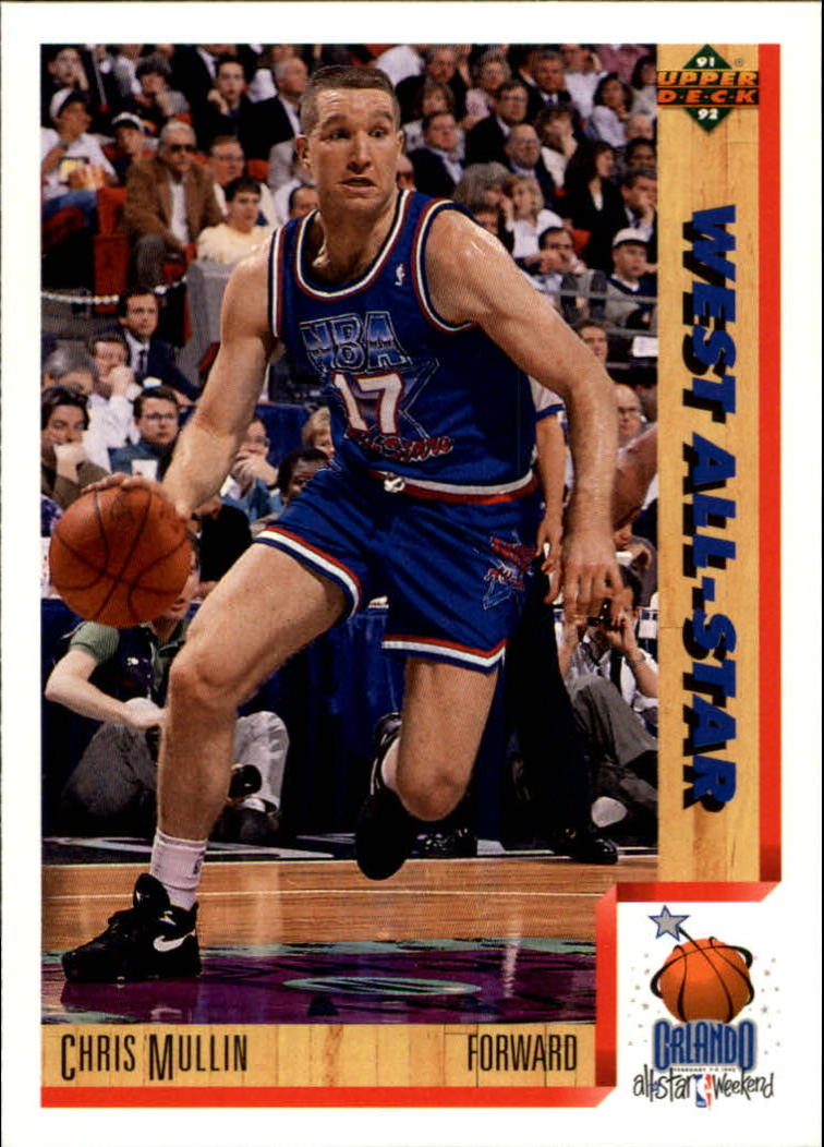 1991-92 Upper Deck #465 Chris Mullin AS