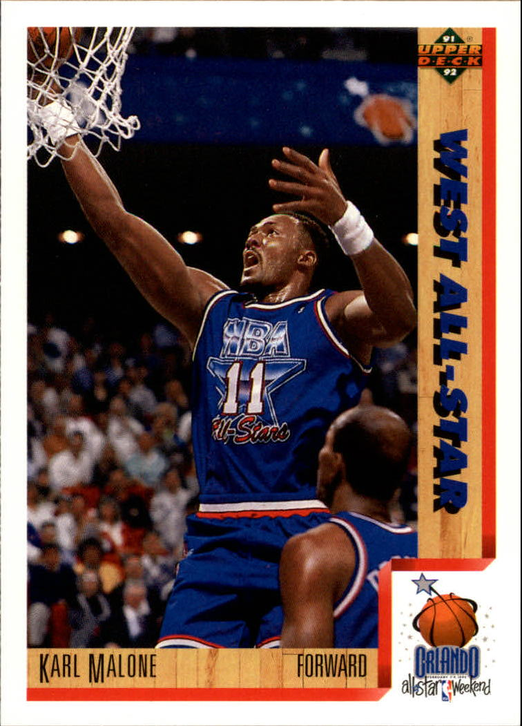 1991-92 Upper Deck #466 Karl Malone AS