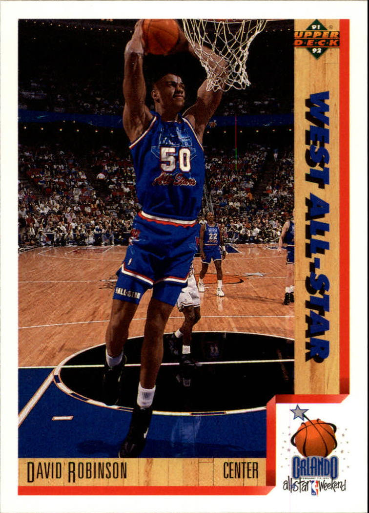 1991-92 Upper Deck #467 David Robinson AS