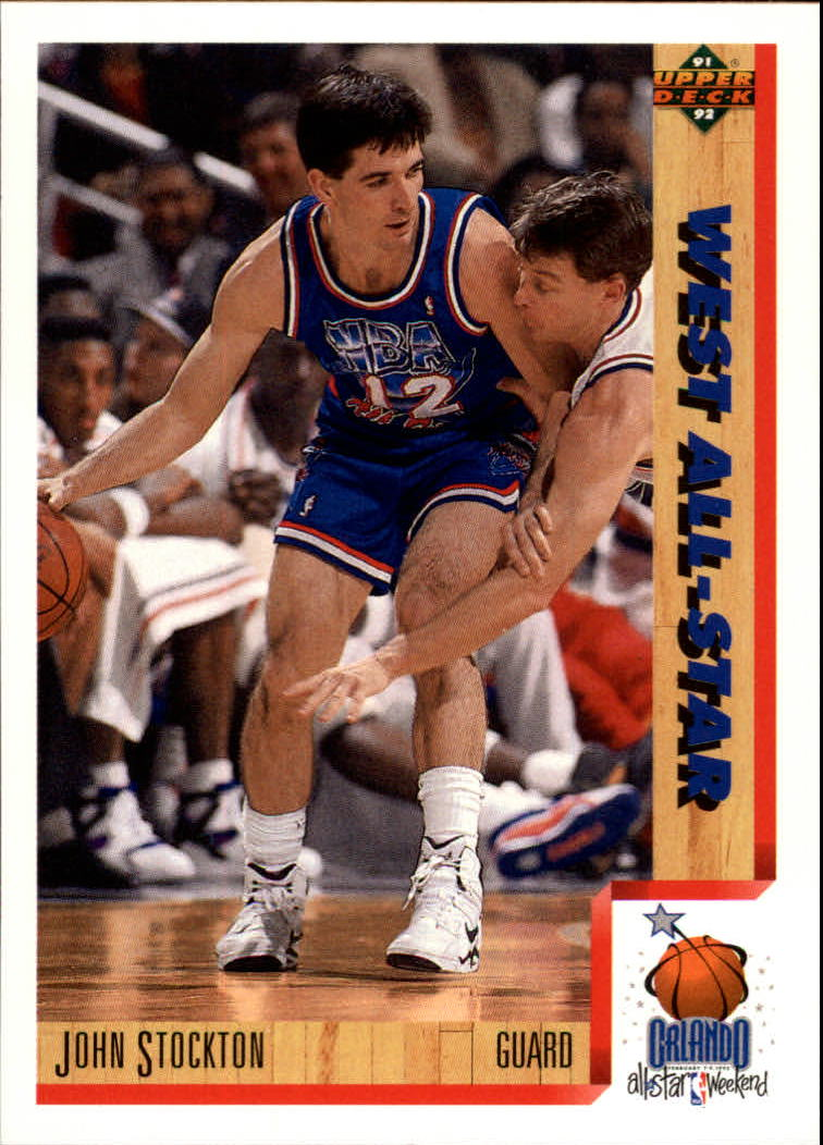 1991-92 Upper Deck #470 John Stockton AS