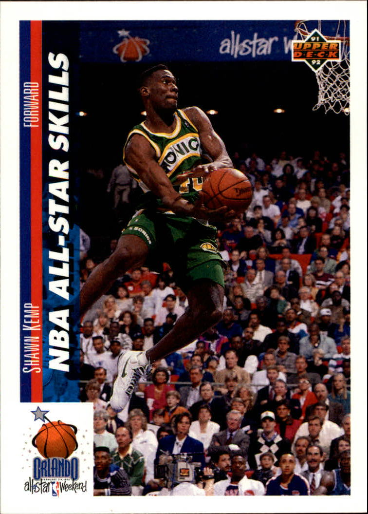 1991-92 Upper Deck #481 Shawn Kemp SD