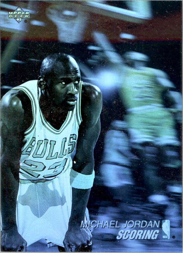 1991-92 Upper Deck Award Winner Holograms #AW1 Michael Jordan/Scoring Leader