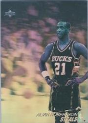 1991-92 Upper Deck Award Winner Holograms #AW2 Alvin Robertson/Steals Leader