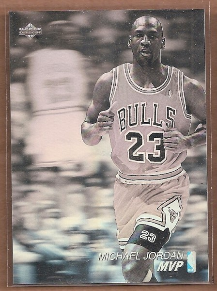 1991-92 Upper Deck Award Winner Holograms #AW4 Michael Jordan/MVP