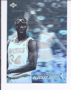 1991-92 Upper Deck Award Winner Holograms #AW8 Hakeem Olajuwon/Blocked Shots Leader