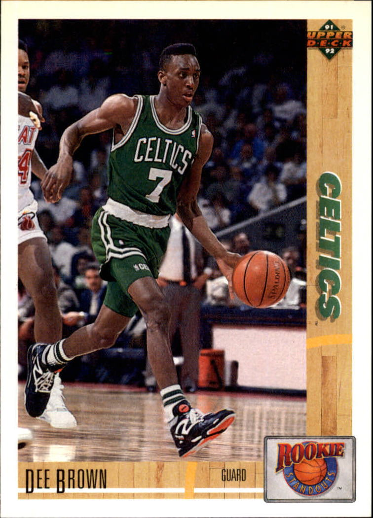 1991-92 Upper Deck Rookie Standouts #R12 Dee Brown