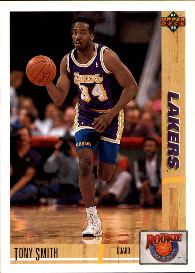 1991-92 Upper Deck Rookie Standouts #R19 Tony Smith