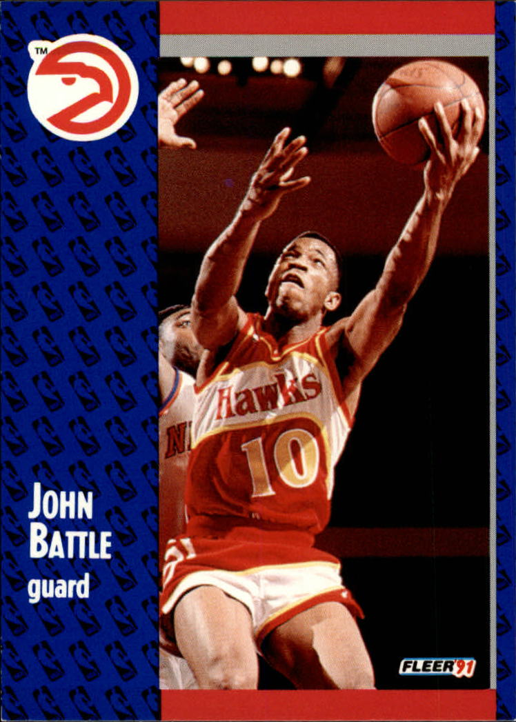 1991-92 Fleer #1 John Battle