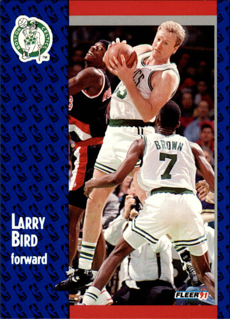 1991-92 Fleer #8 Larry Bird