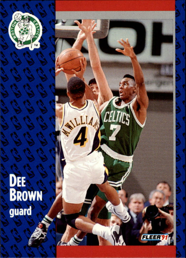 1991-92 Fleer #9 Dee Brown