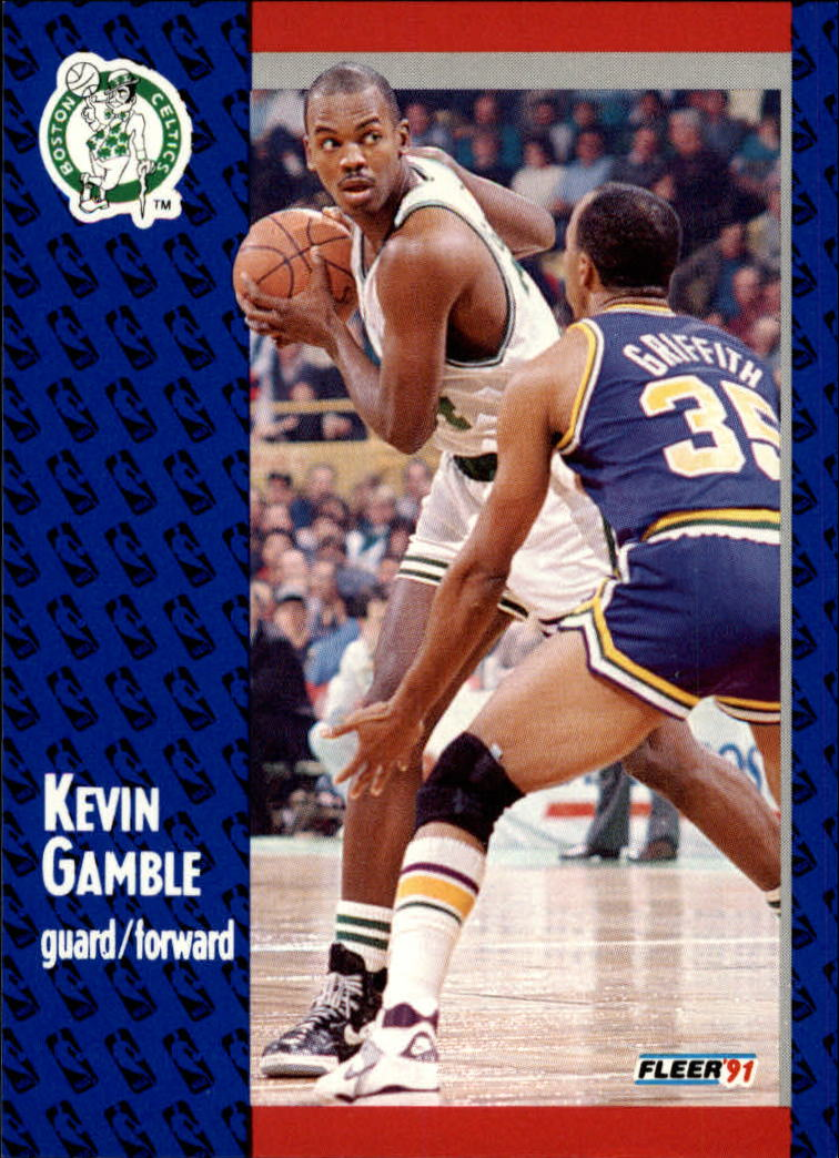 1991-92 Fleer #11 Kevin Gamble