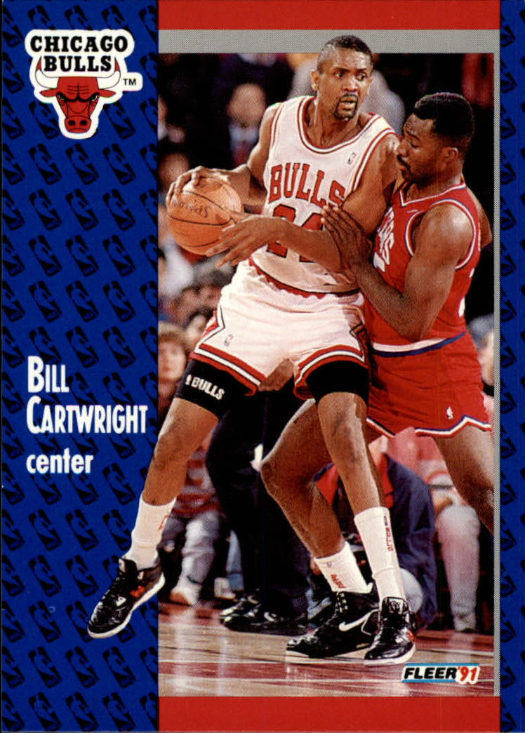 1991-92 Fleer #26 Bill Cartwright