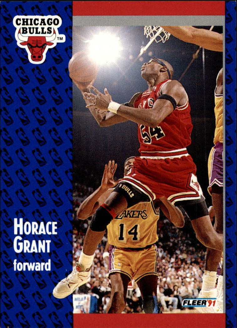 1991-92 Fleer #27 Horace Grant