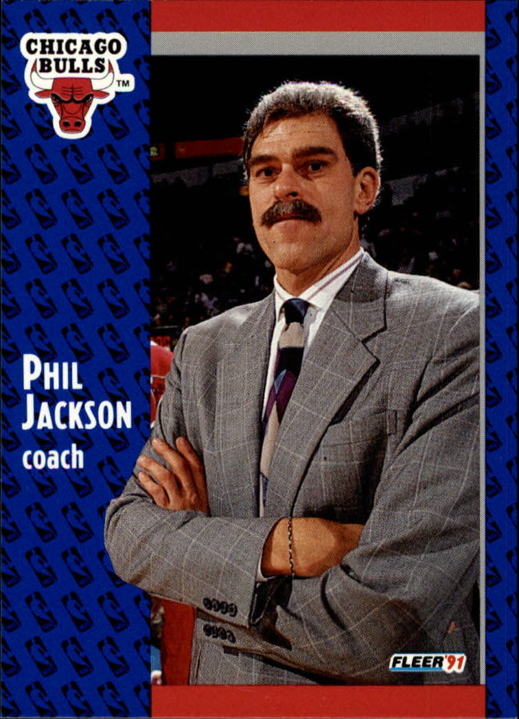 1991-92 Fleer #28 Phil Jackson CO