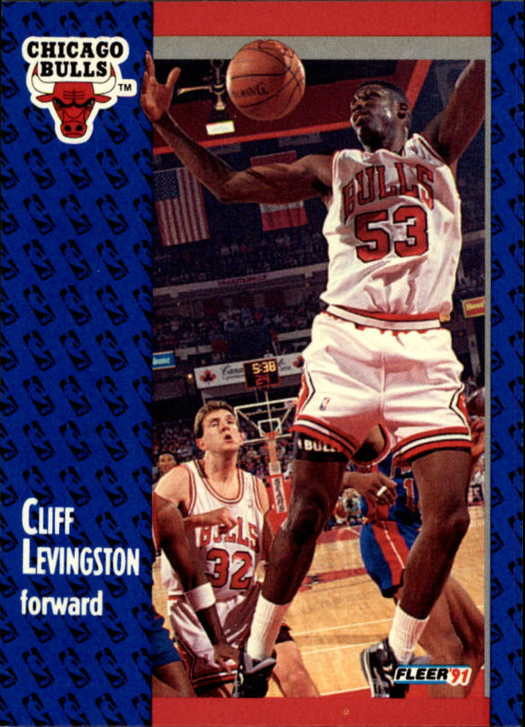 1991-92 Fleer #30 Cliff Levingston