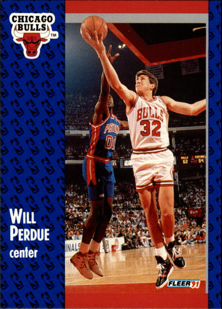 1991-92 Fleer #32 Will Perdue