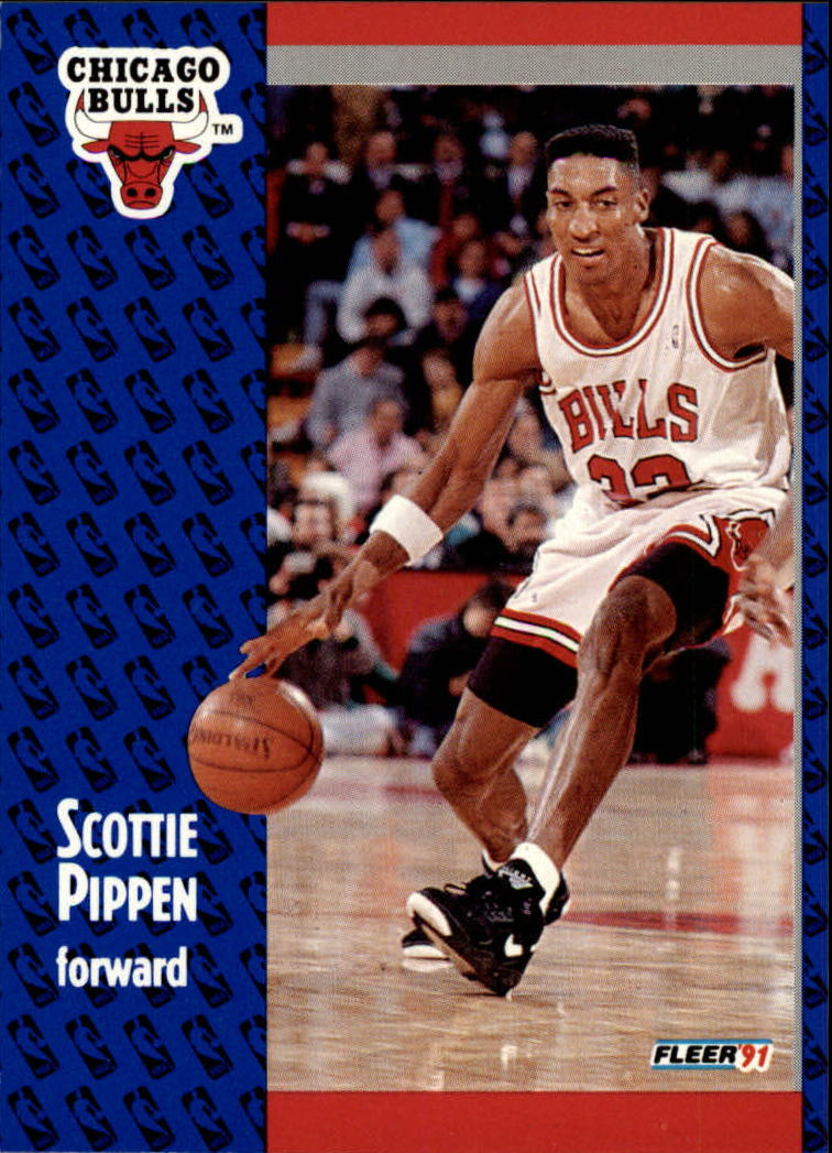 1991-92 Fleer #33 Scottie Pippen