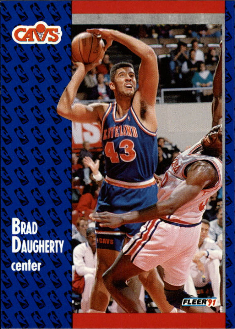 1991-92 Fleer #34 Brad Daugherty