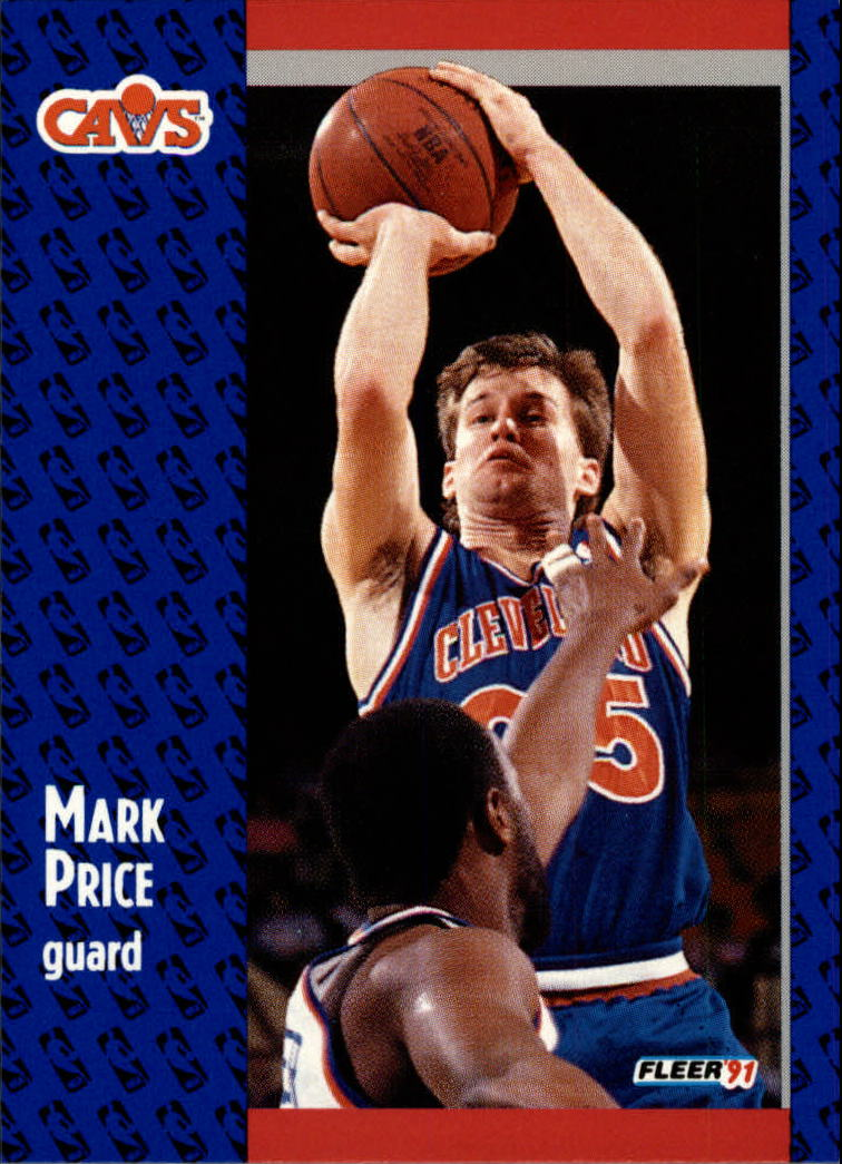 1991-92 Fleer #38 Mark Price