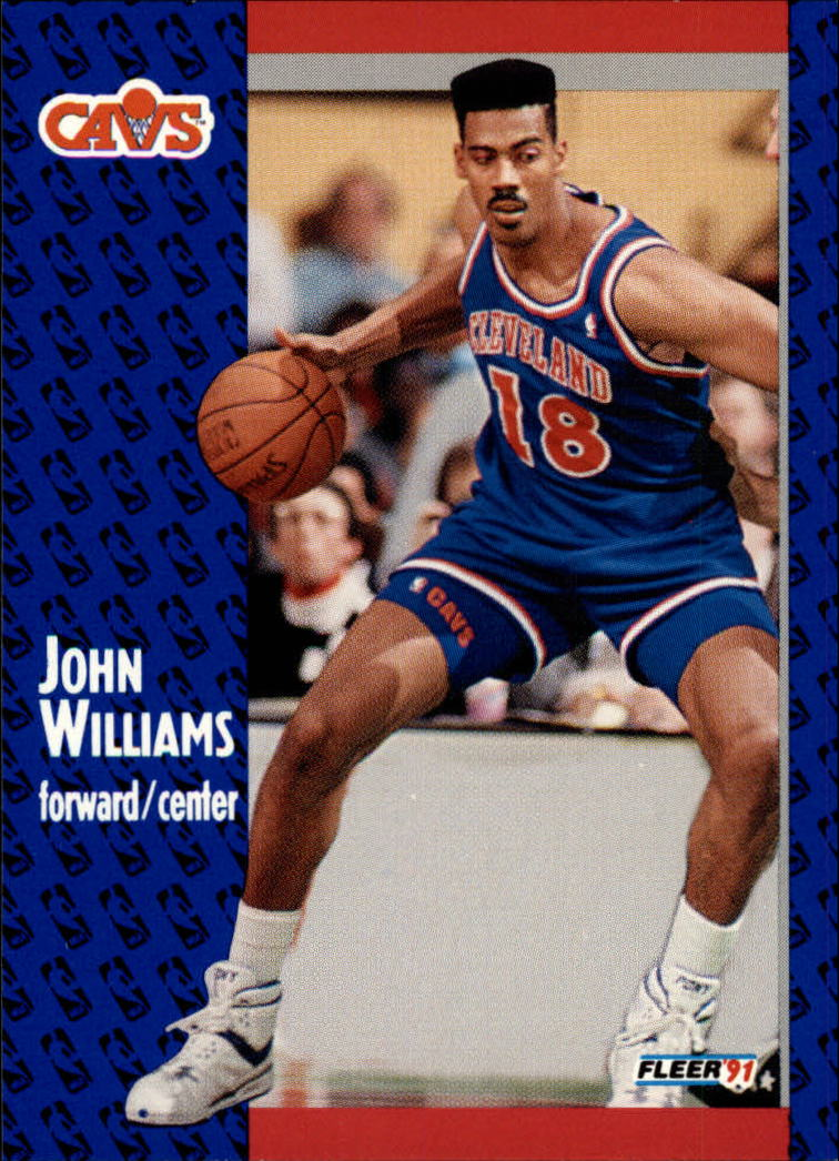 1991-92 Fleer #40 Hot Rod Williams