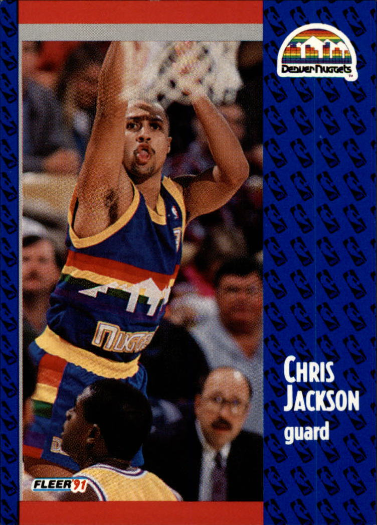 1991-92 Fleer #49 Chris Jackson