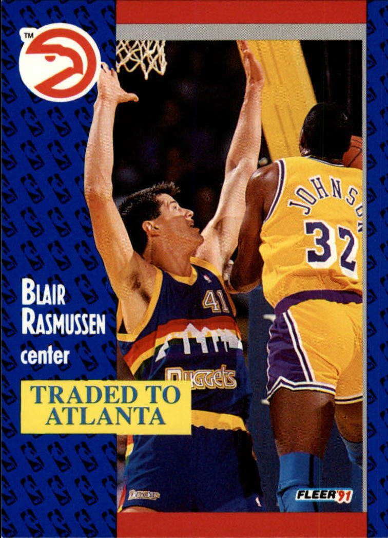1991-92 Fleer #52 Blair Rasmussen