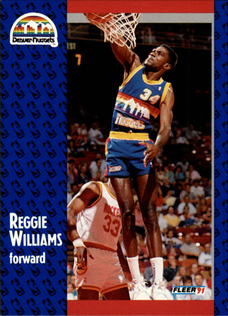 1991-92 Fleer #54 Reggie Williams