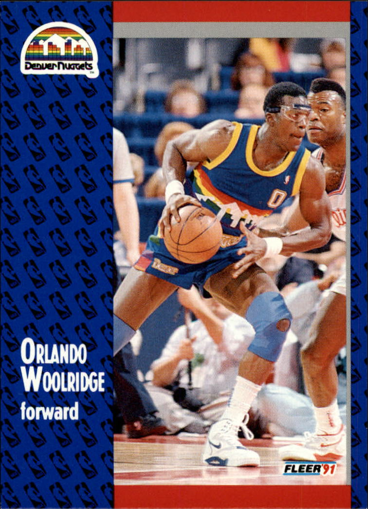 1991-92 Fleer #56 Orlando Woolridge