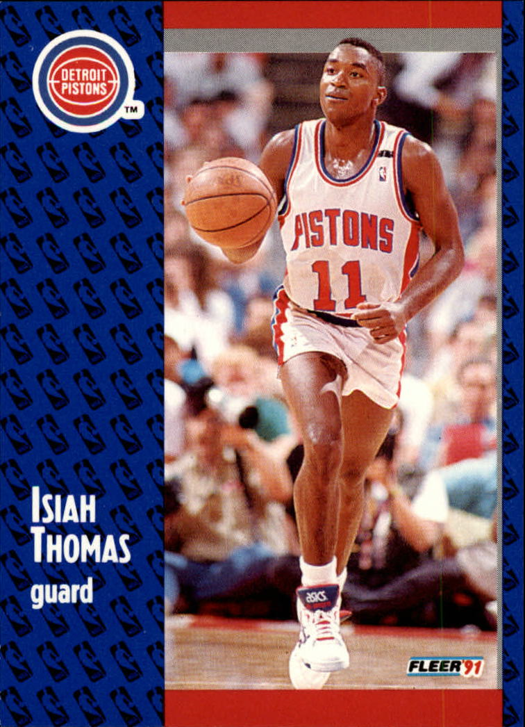 1991-92 Fleer #64 Isiah Thomas