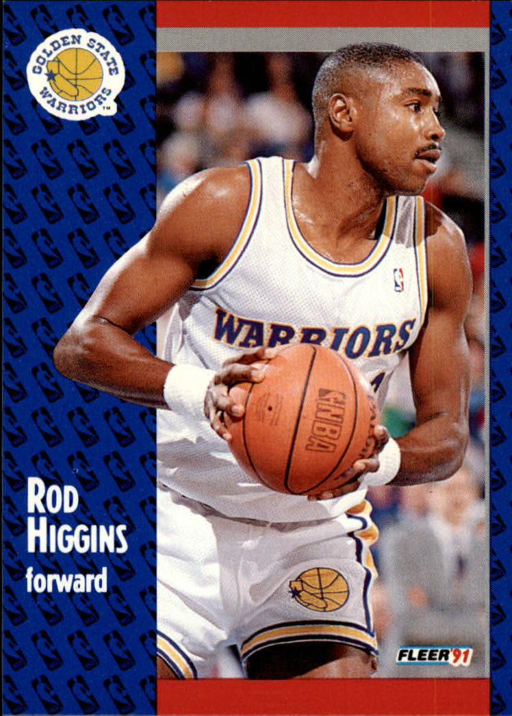 1991-92 Fleer #66 Rod Higgins