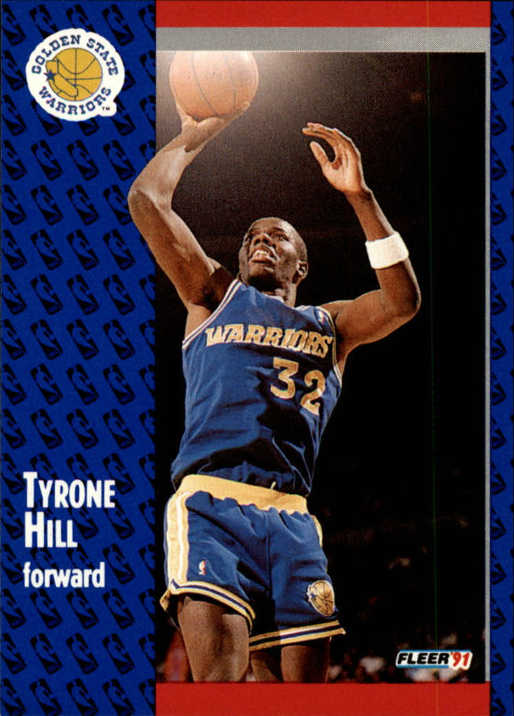 1991-92 Fleer #67 Tyrone Hill