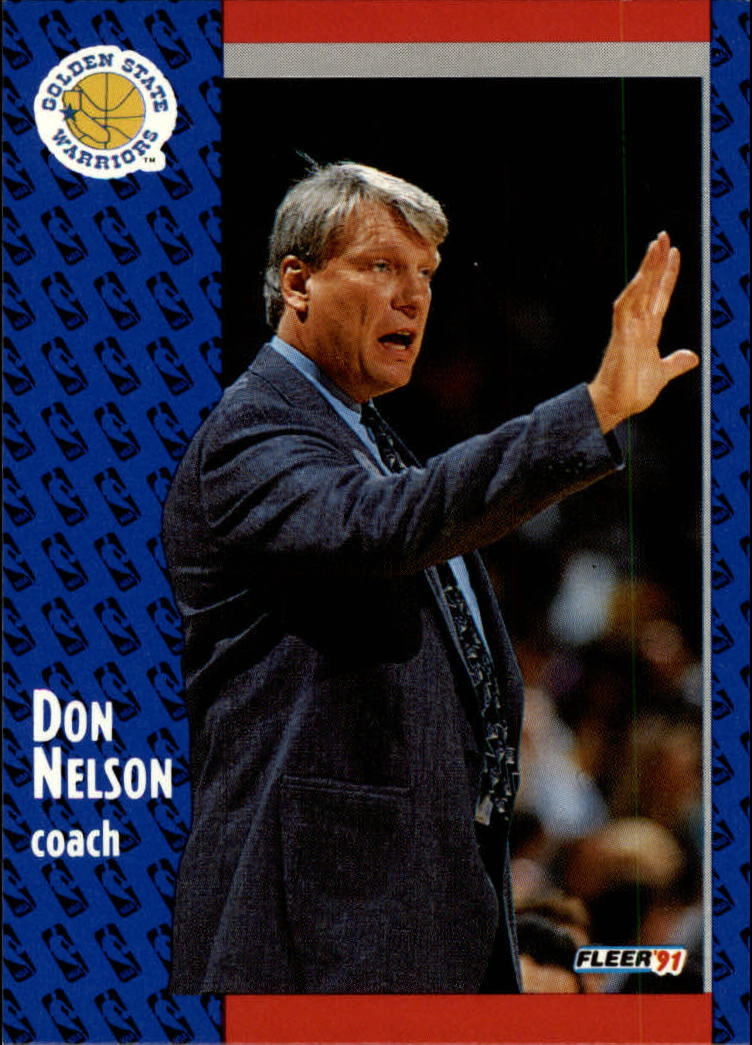 1991-92 Fleer #70 Don Nelson CO