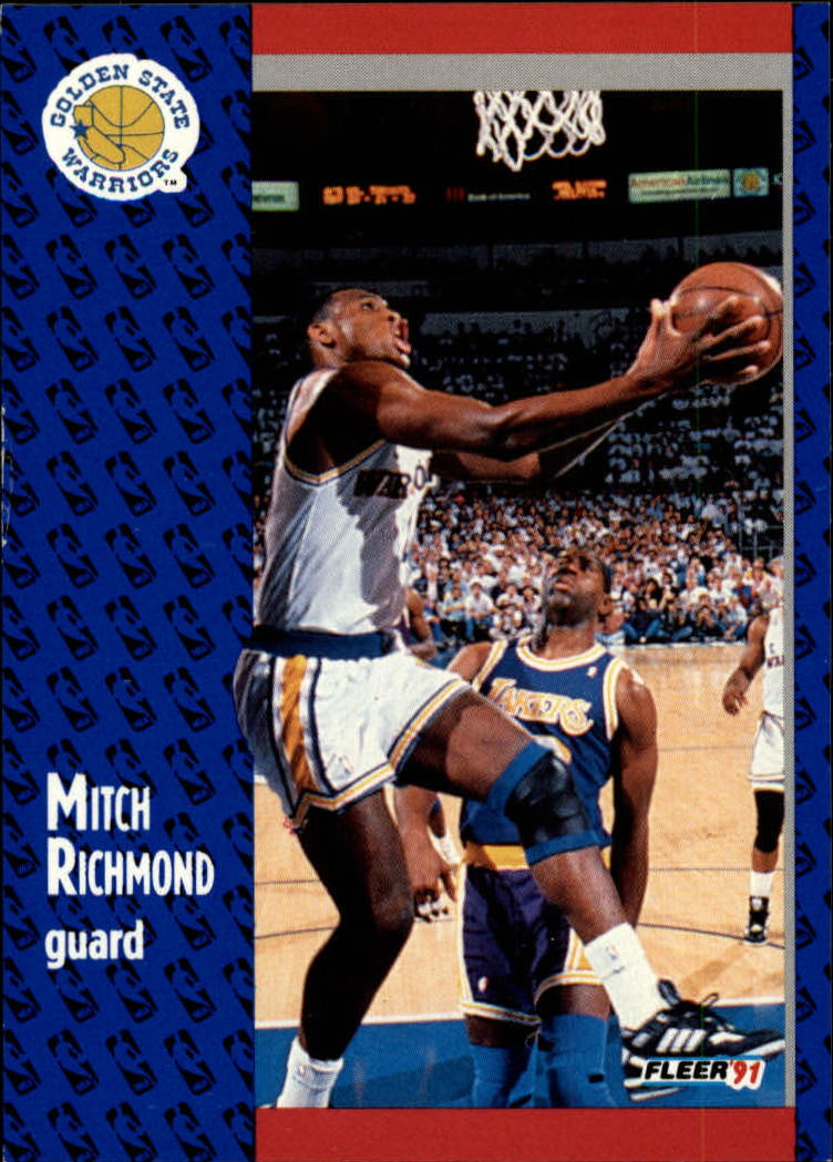 1991-92 Fleer #71 Mitch Richmond