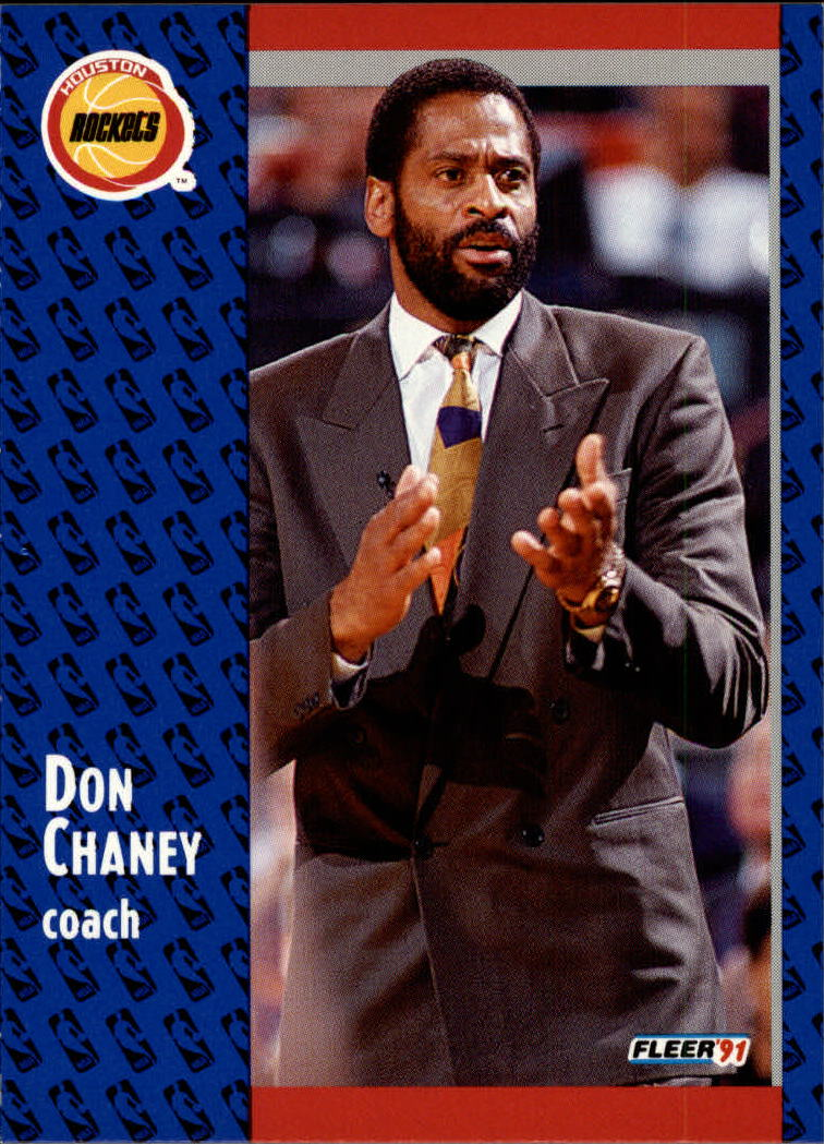 1991-92 Fleer #73 Don Chaney CO