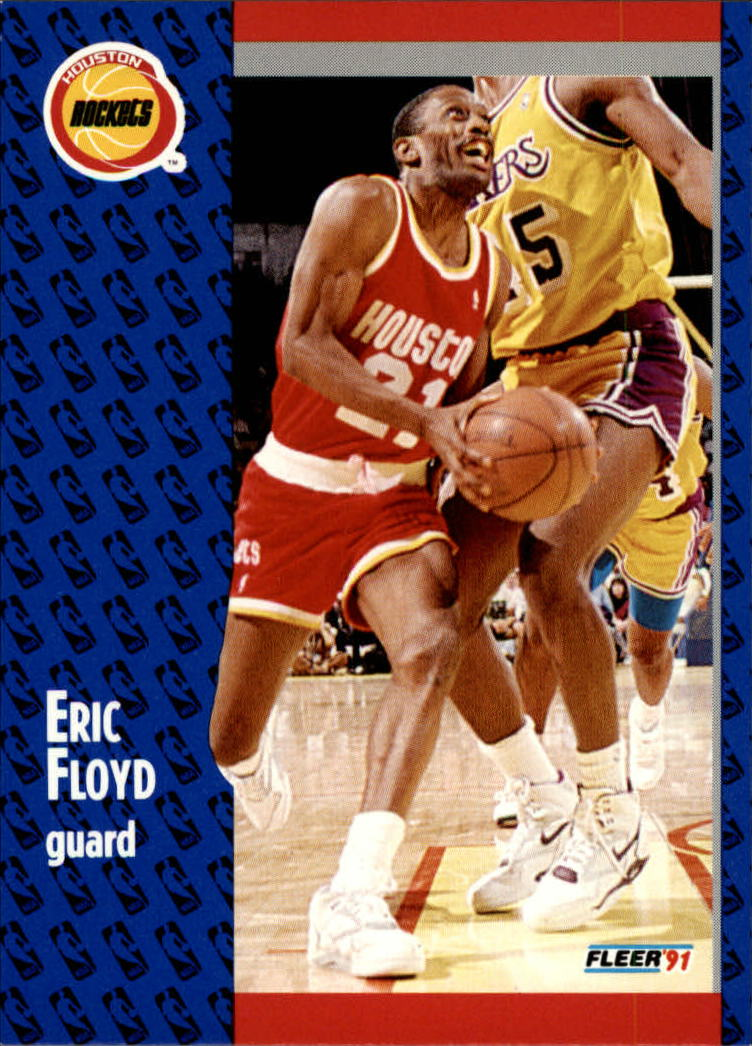 1991-92 Fleer #74 Eric(Sleepy) Floyd