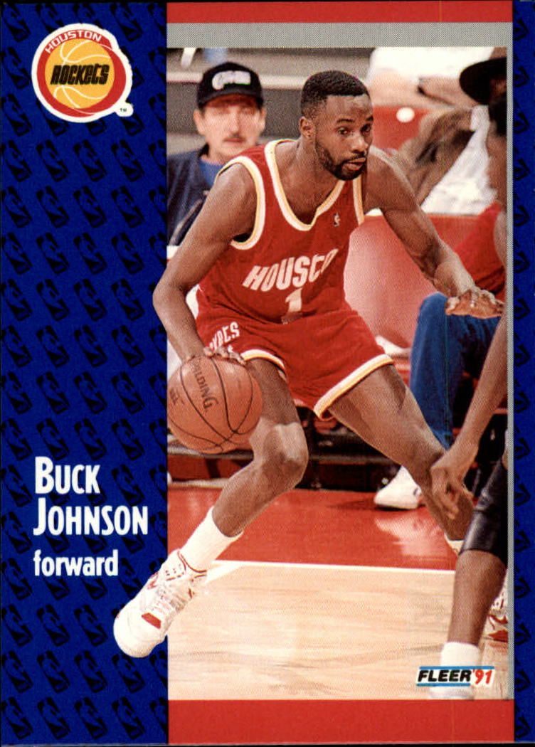 1991-92 Fleer #75 Buck Johnson