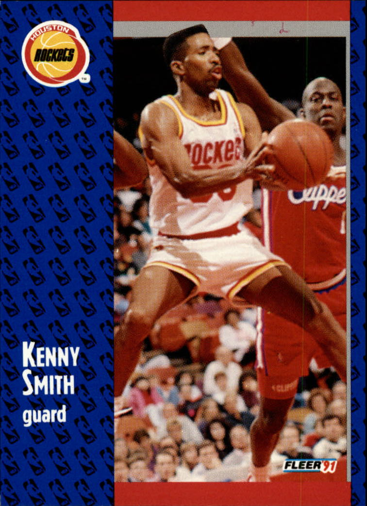 1991-92 Fleer #78 Kenny Smith