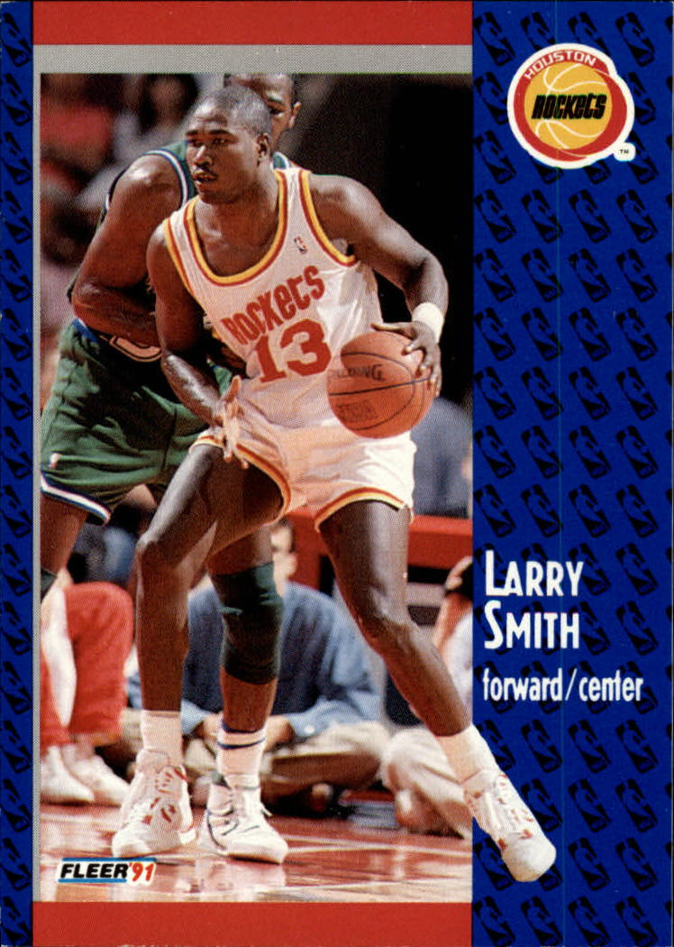1991-92 Fleer #79 Larry Smith