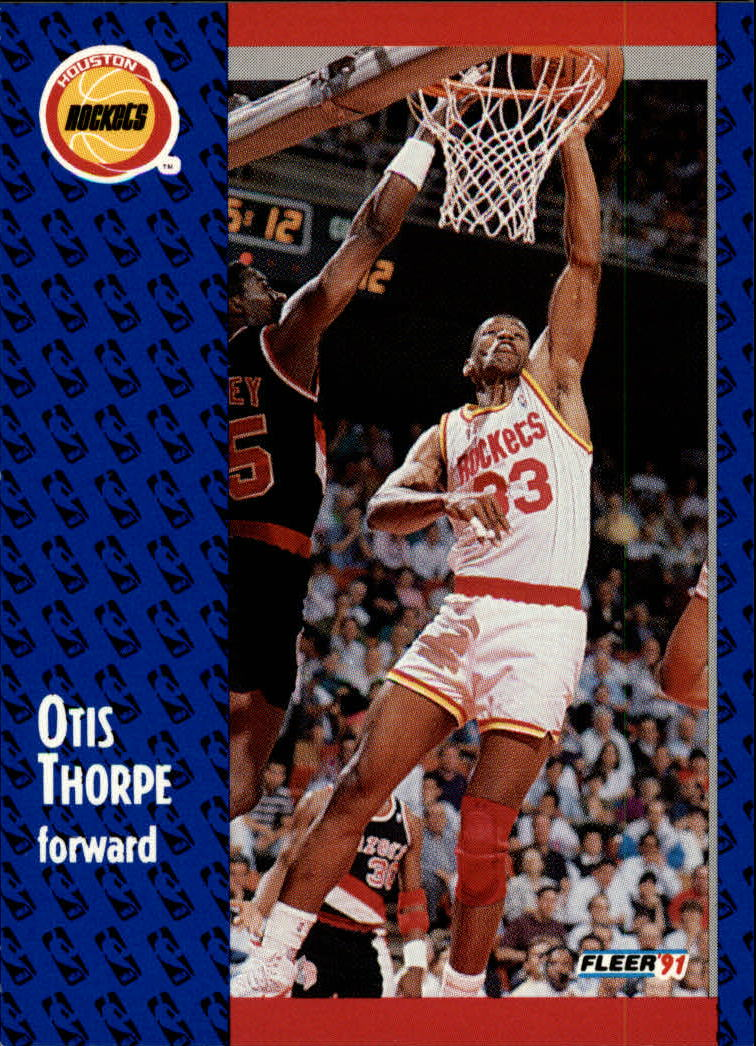 1991-92 Fleer #80 Otis Thorpe