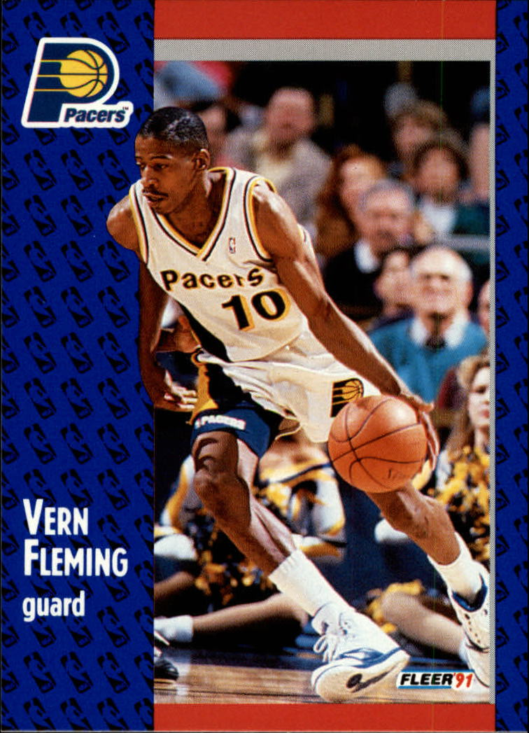 1991-92 Fleer #81 Vern Fleming