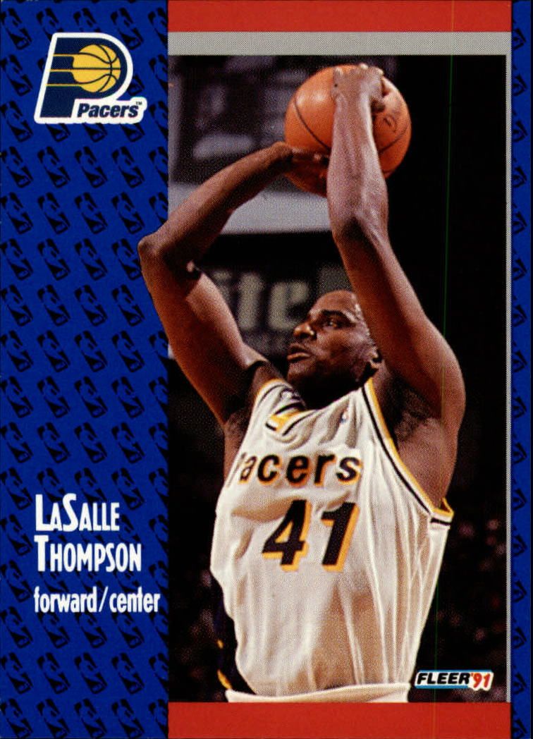 1991-92 Fleer #87 LaSalle Thompson