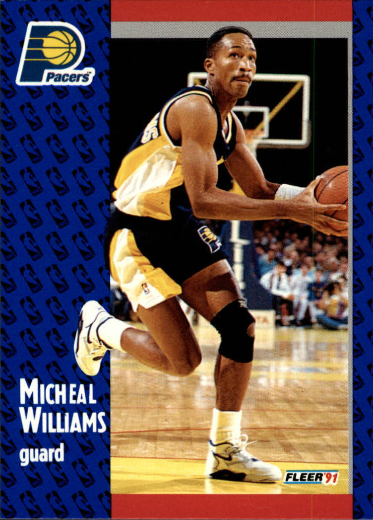 1991-92 Fleer #88 Micheal Williams