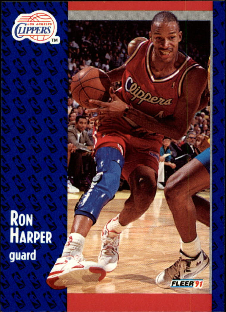 1991-92 Fleer #90 Ron Harper