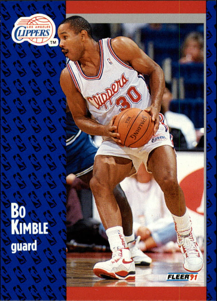 1991-92 Fleer #91 Bo Kimble